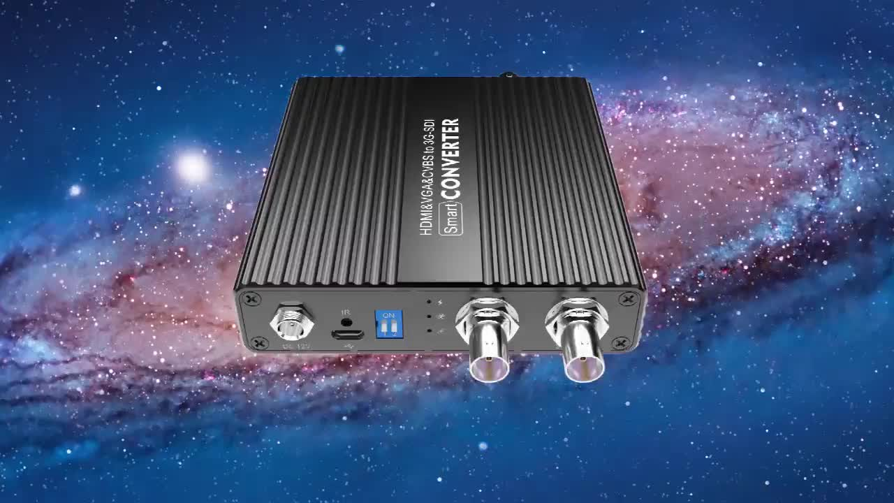 1080P 1080i HDMI/VGA/CVBS to SD/HD/3G-SDI Video Converter Digital video fiber optical converter