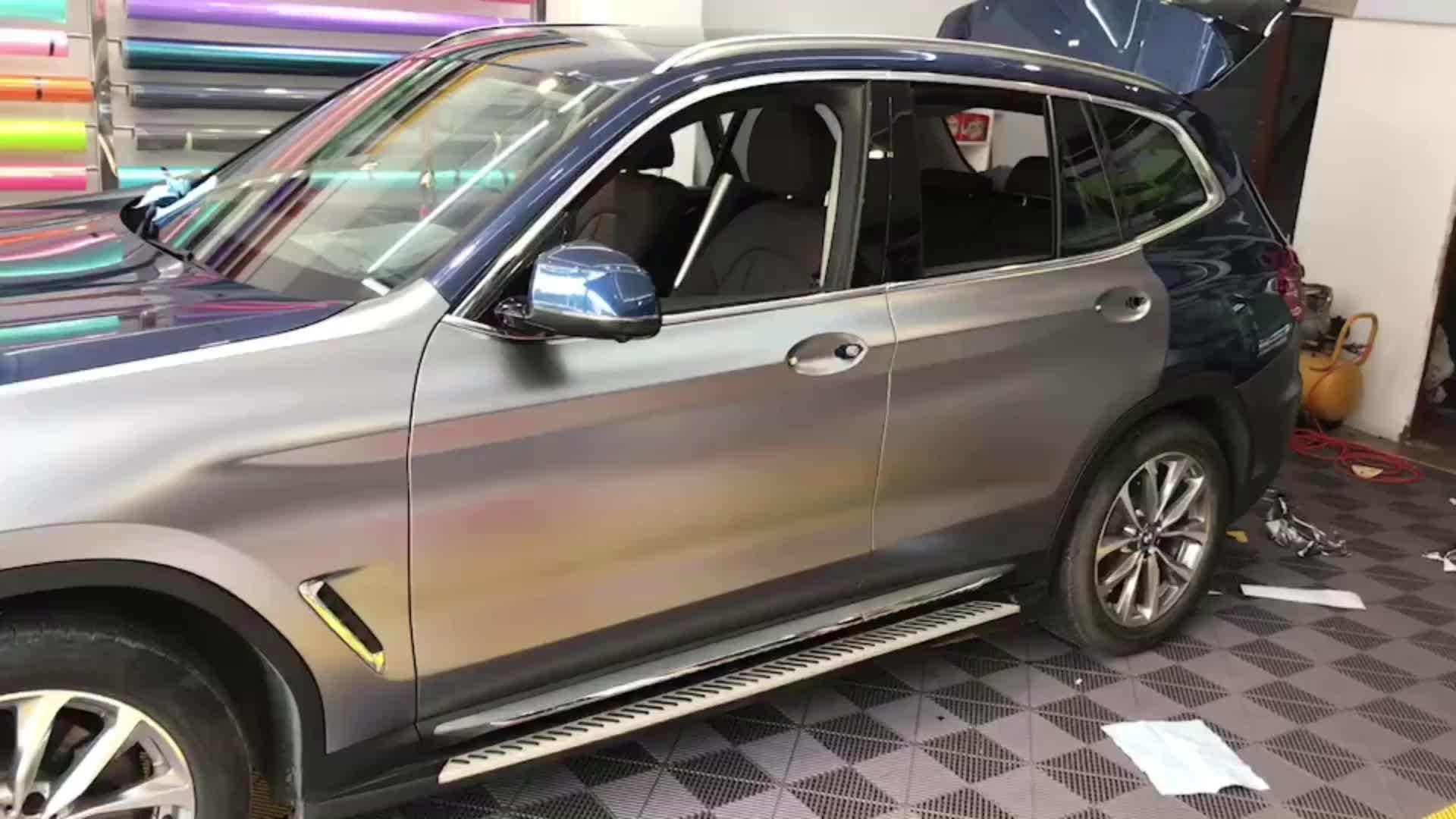 CARLIKE Chrome Car Mirror Prospect แบรนด์ใหม่สติ๊กเกอร์ตัวถังรถ