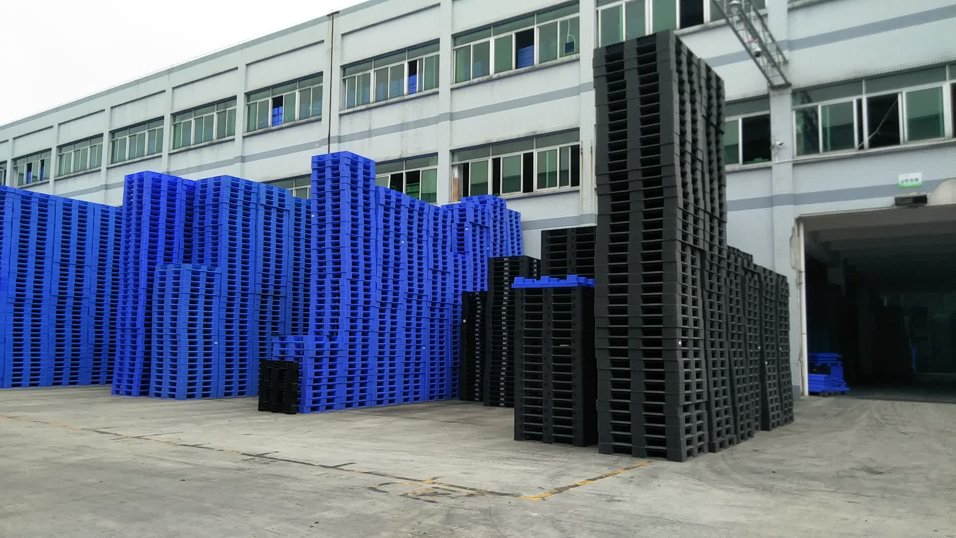 Double Side Plastic Euro Standard Type Stackable Pallet Wholesale Price