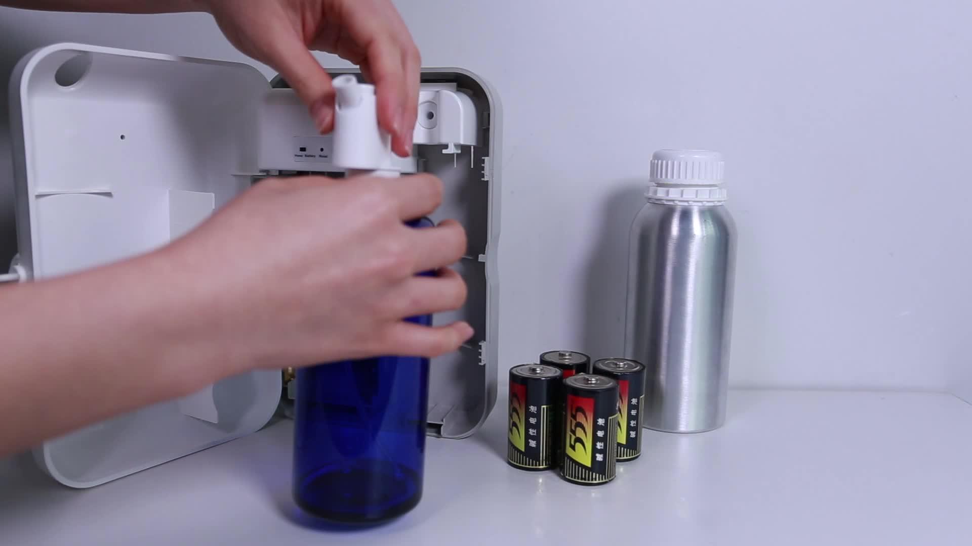 Scented aromatizador essencial do atomizador da aromaterapia do difusor do ar do perfume das idéias 2019 do produto SCENTA