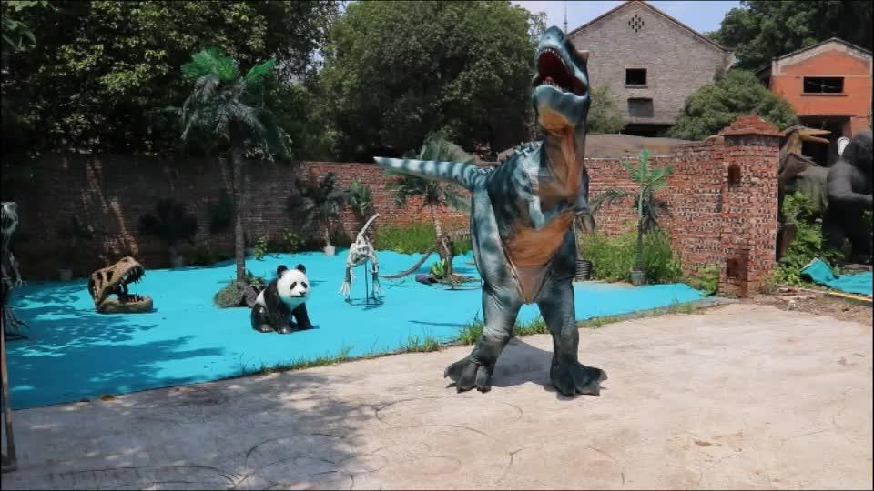 ウォーキングT-レックス恐竜大人のリアルな恐竜コスチューム販売