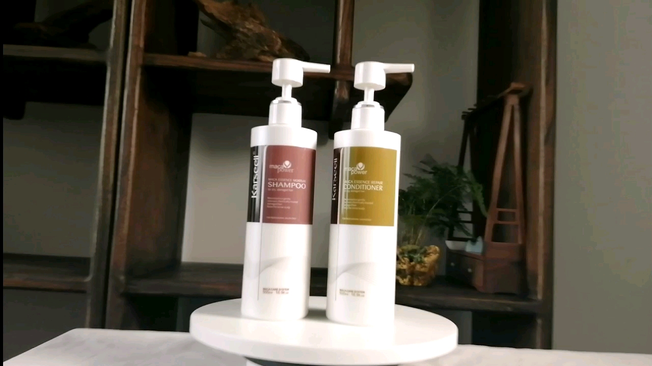 private label good quality keratin botox hair treatment ppt clarifying shampoo and conditioner set for damaged hair