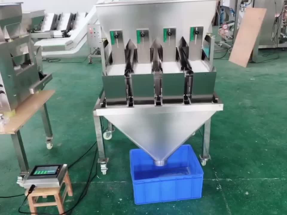 Automatic weighing scales seeds spice herb weigher packing machine made in China
