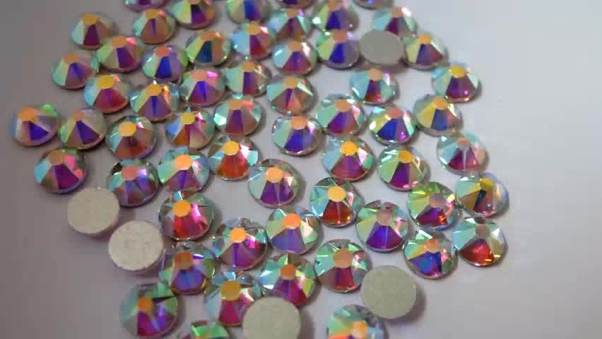 New color stone crystal AB color 2038 Hotfix rhinestone High quality hot drilling stones for clothes decoration with glue