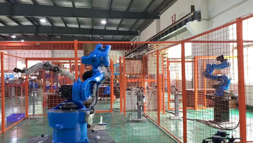 カスタマイズされた高性能多軸産業溶接マニピュレータ