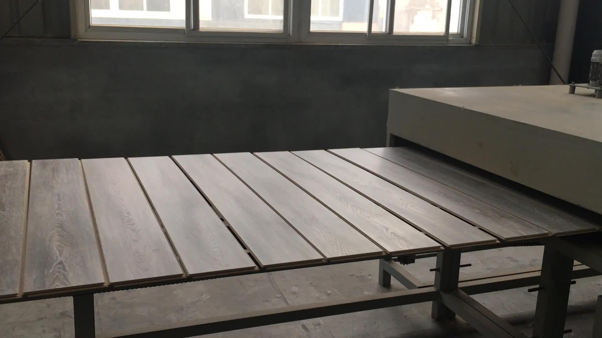 Su geçirmez ahşap paneller kapalı laminat parke yatak odası ve otel için