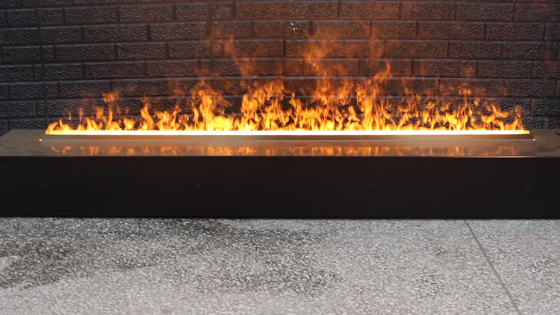 Atomization Fire Steam Fireplace Cassette 1500mm Flat Panel Design Smoke Flame Effect Dampf Elektrischer Kamin Buy Atomization Fire Atomization Fireplace Smoke Effect Fire Product On Alibaba Com