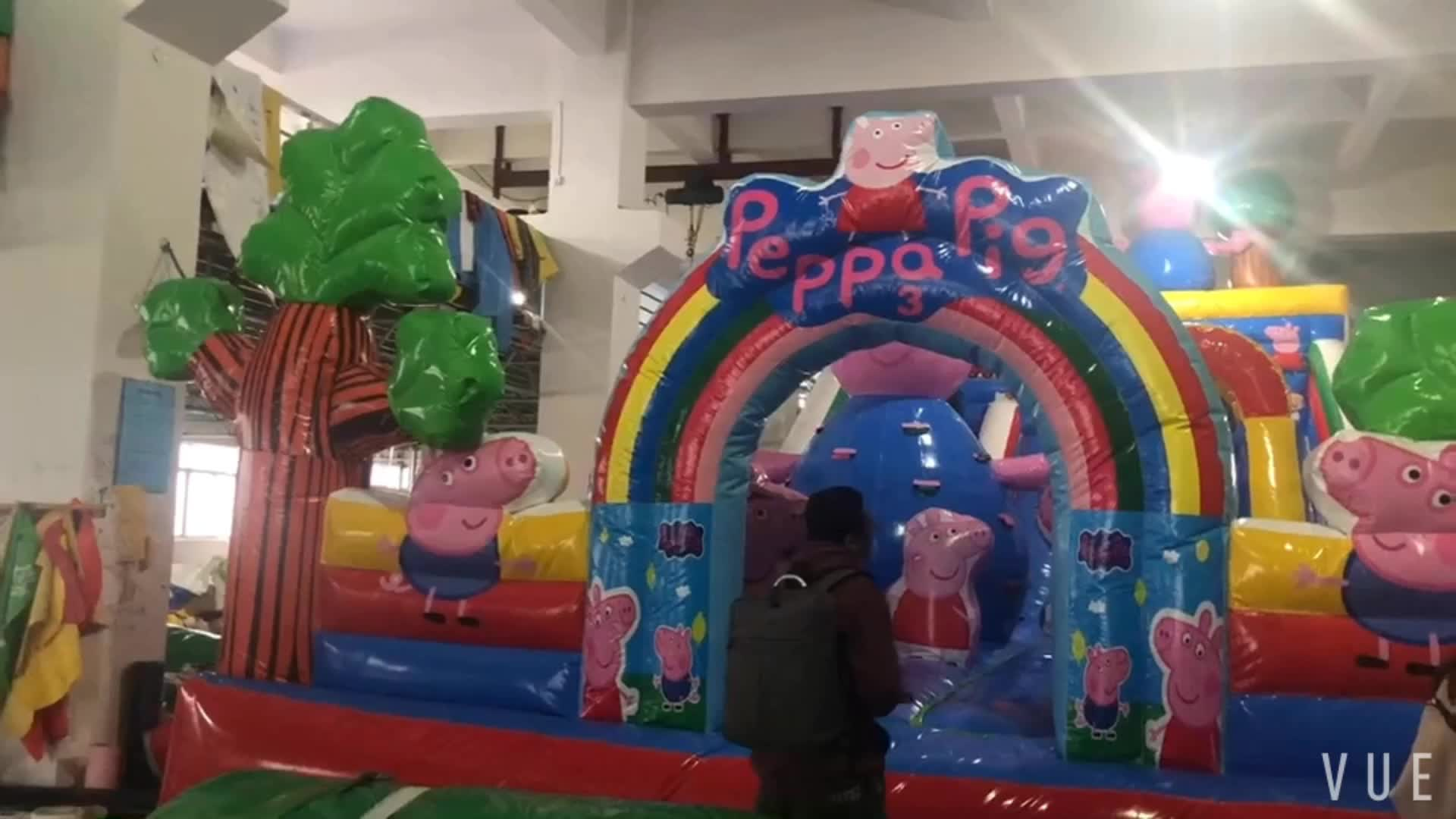 NEW bouncy castle inflatable jumping castle outdoor playground water slide with inflatable bouncer for kid