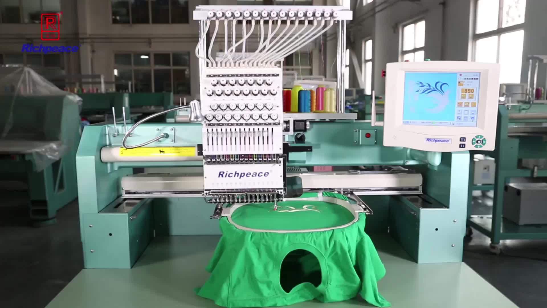 Computer Single Head Cap Embroidery Machine (Inventory machine)