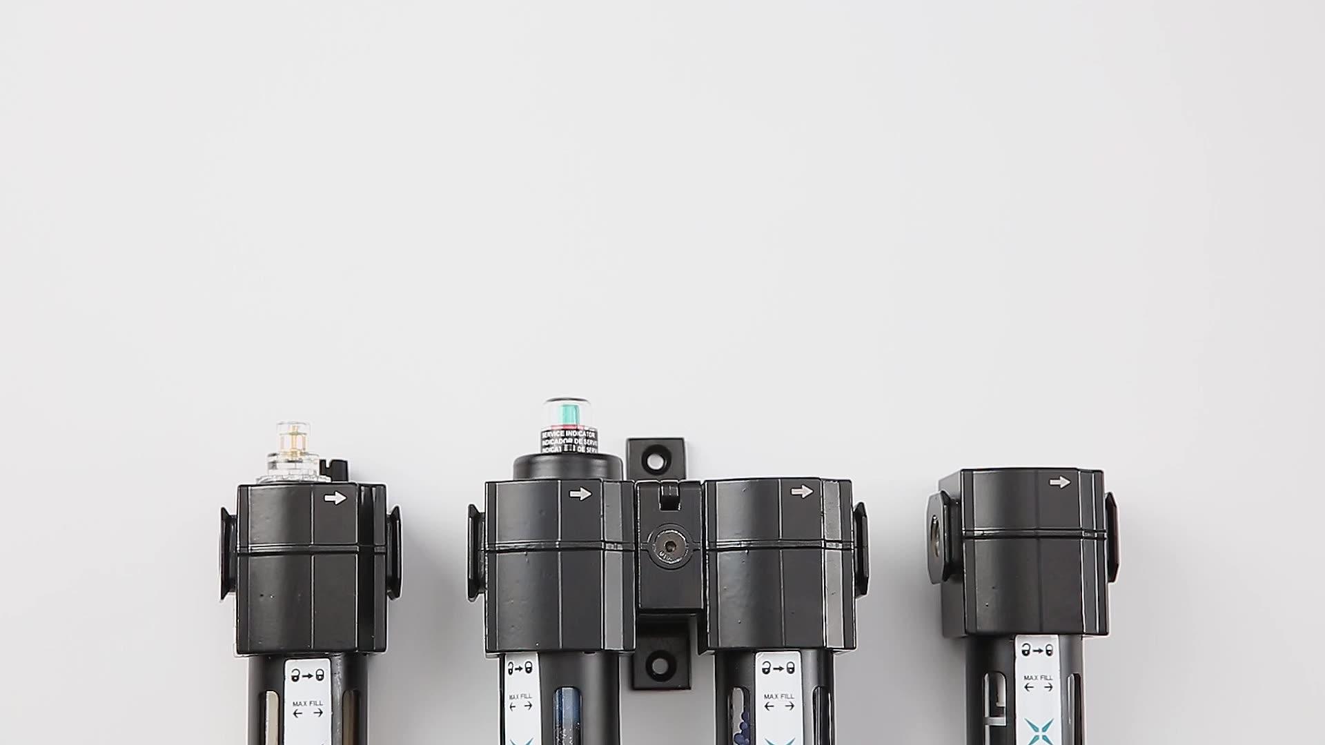 JXPC  Intermediate Type 4ZK88 Model Compressed Air Pressure Filter Pneumatic Regulator