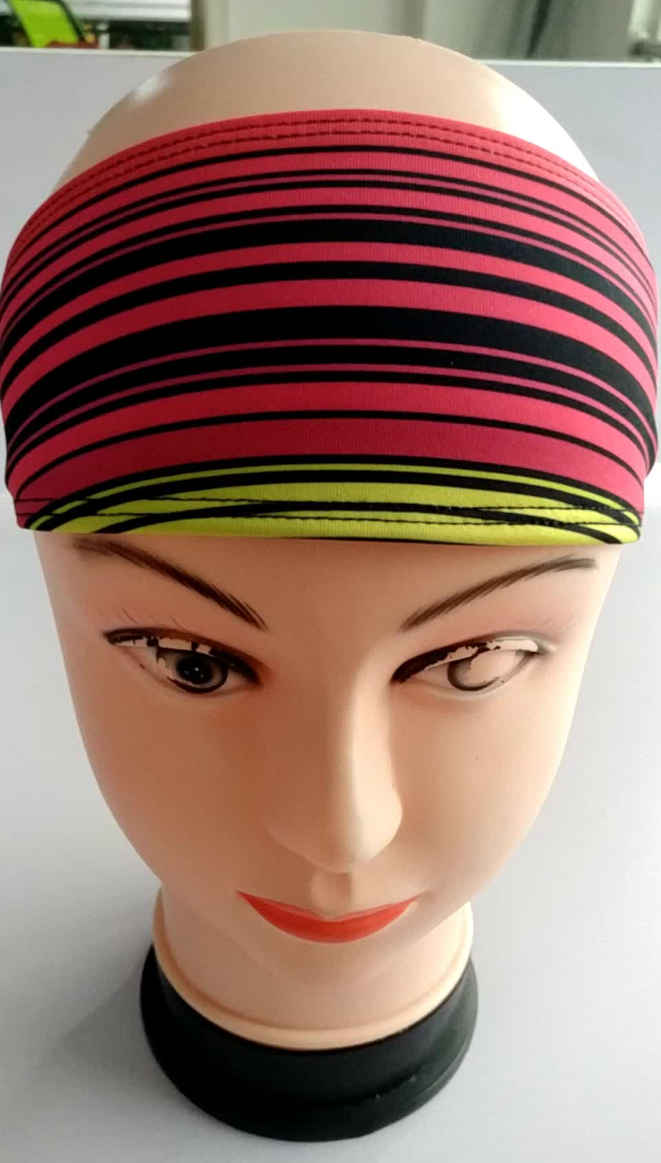 Sweatbands de esportes de moda Headbands para ioga de treino