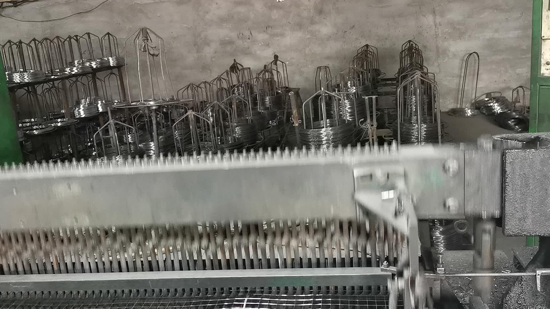 पीवीसी प्लास्टिक लेपित वेल्डेड तार जाल बनाने के लिए केकड़ा जाल