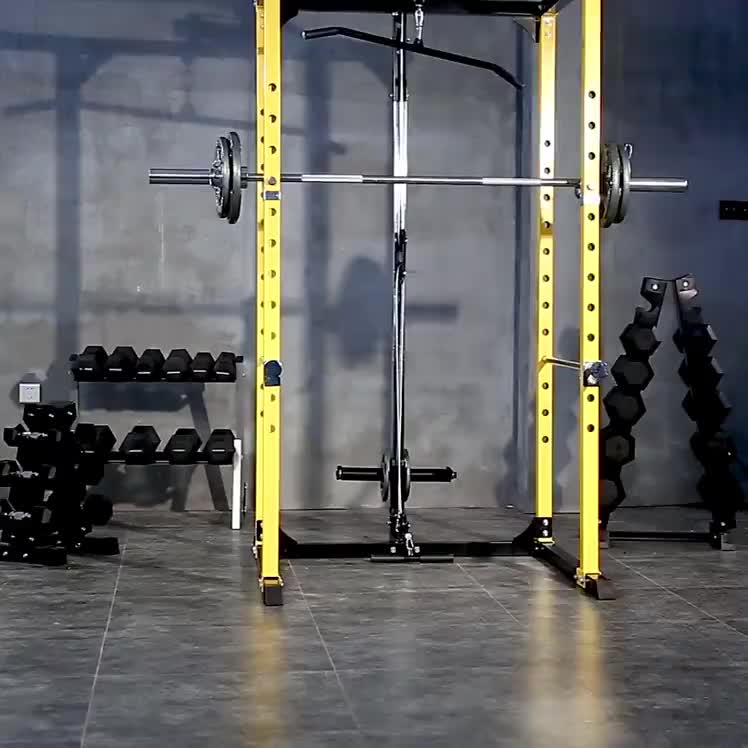 Factory Direct Gym Fitness Equipment Standard Power Cage