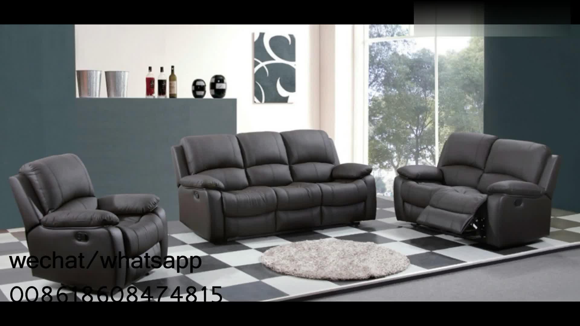Free sample 현대 genuine leather sofa set Living 룸 체스터 필드 된 로고와 룸 sofa set