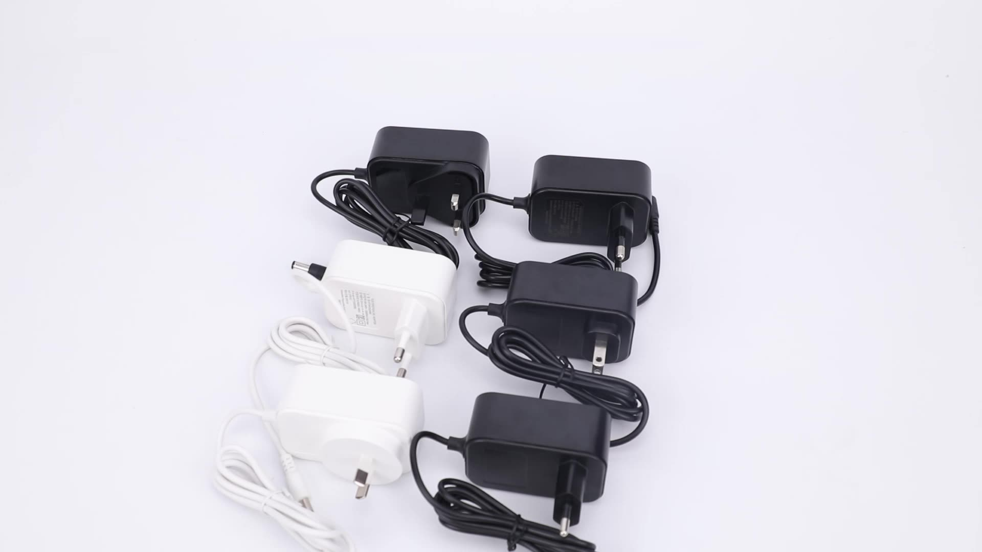 5v 5.5v 12v 13.5v 14.5v 15v 16.5v 19v 24V 1A 1.5A 2.5A 3A 6A 220V 230V CCC CE ETL PSE KC FCC approved ac dc power adapter white
