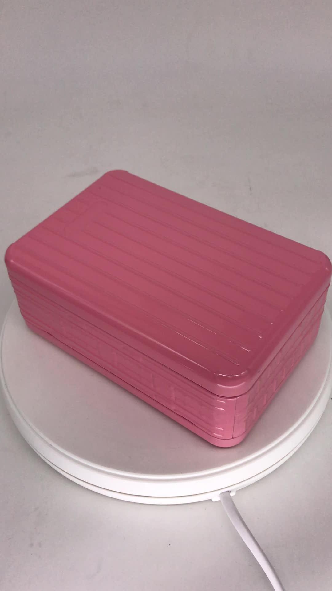 方形铁盒面膜包装 带击凸面膜马口铁盒  高档面膜铁盒定制厂家