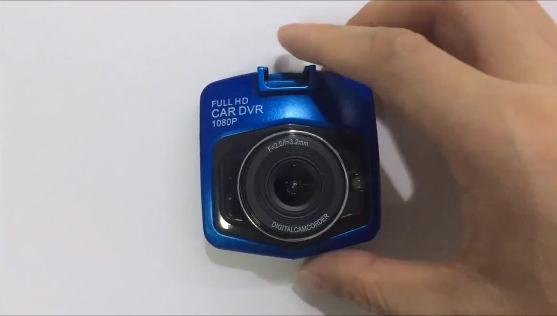 170 תואר רחב זווית 2.4 אינץ מלא HD 1080P רכב Blackbox רכב DVR GT300 מצלמת מקף 1080p Dvr וידאו מקליט