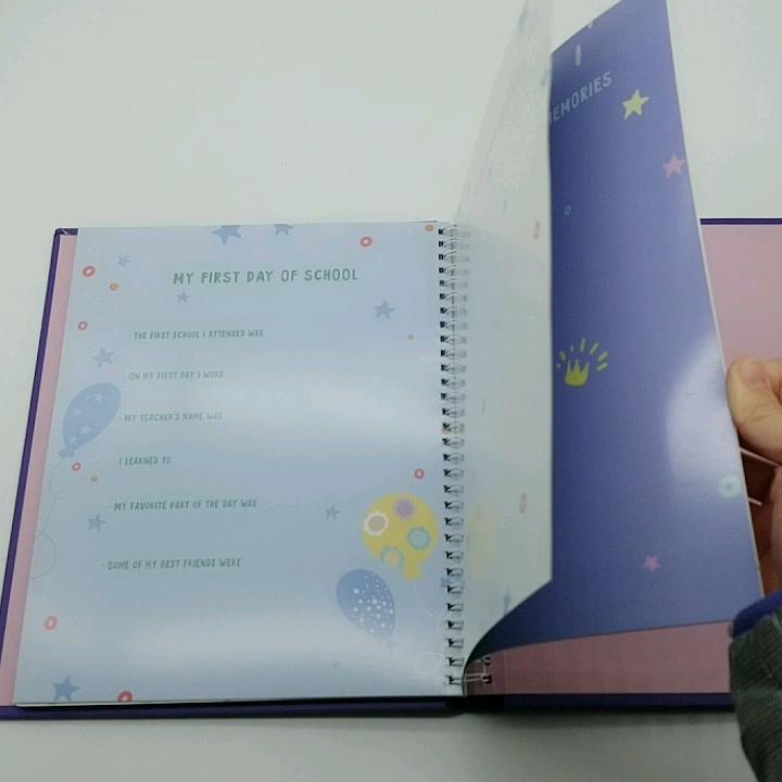 Custom Baby Album Books First Year Memory Book Printing