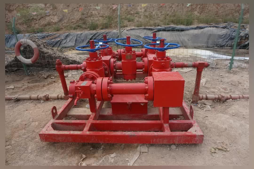 Controllo bene choke collettore/wellhead montaggio collettore/petrolio attrezzature choke collettore