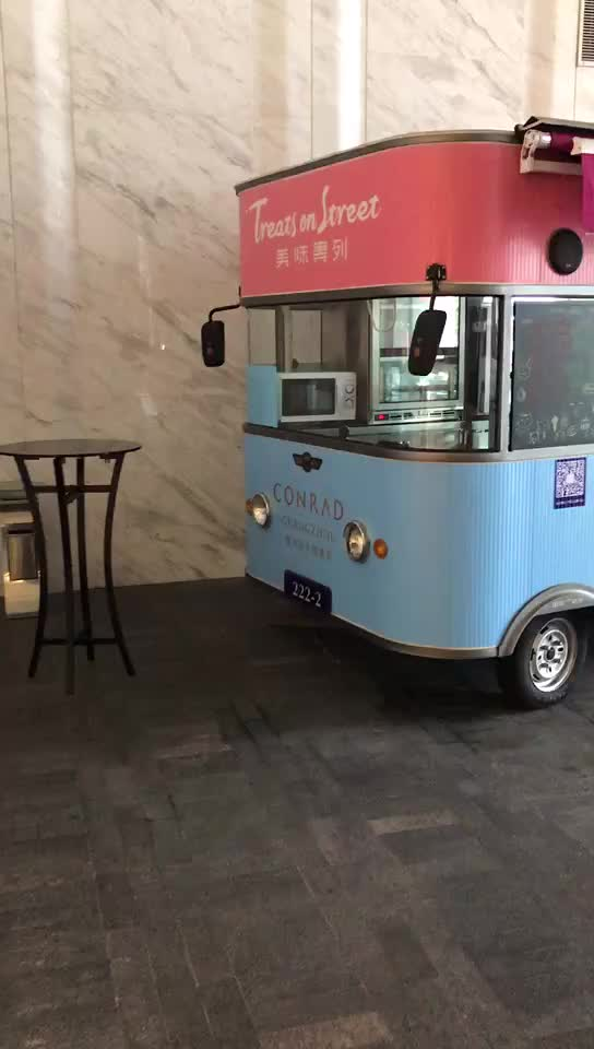 Australia Standard Food Trucks Mobile Kitchen Fast Food Trailer With Appliances For Sale