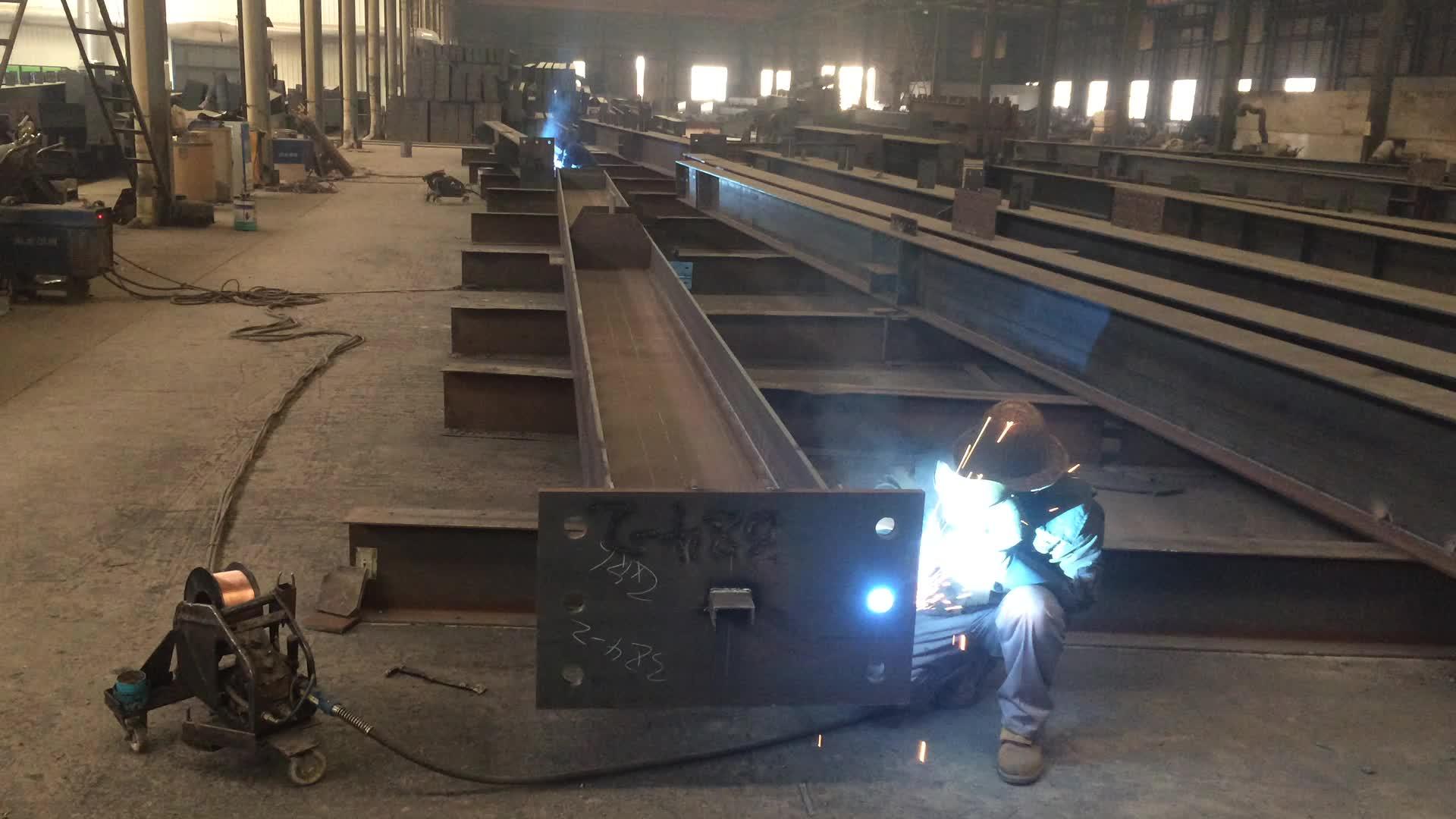 China acero fábrica con estructura pesada