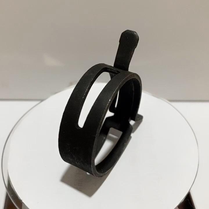 पाइप के लिए dacromet 65Mn स्टील वसंत प्रकार नली clamps