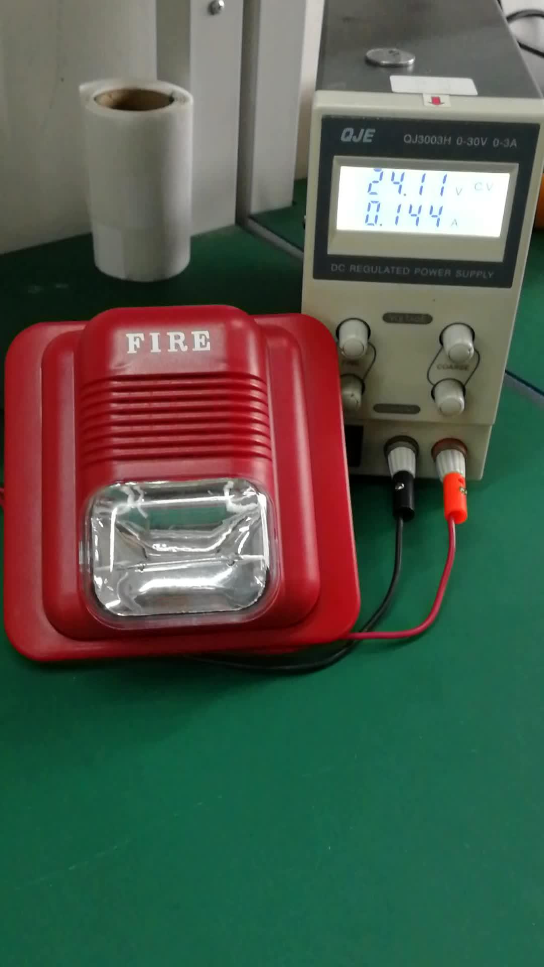 Fuego sirena con luz estroboscópica princi sirena con luz de flash