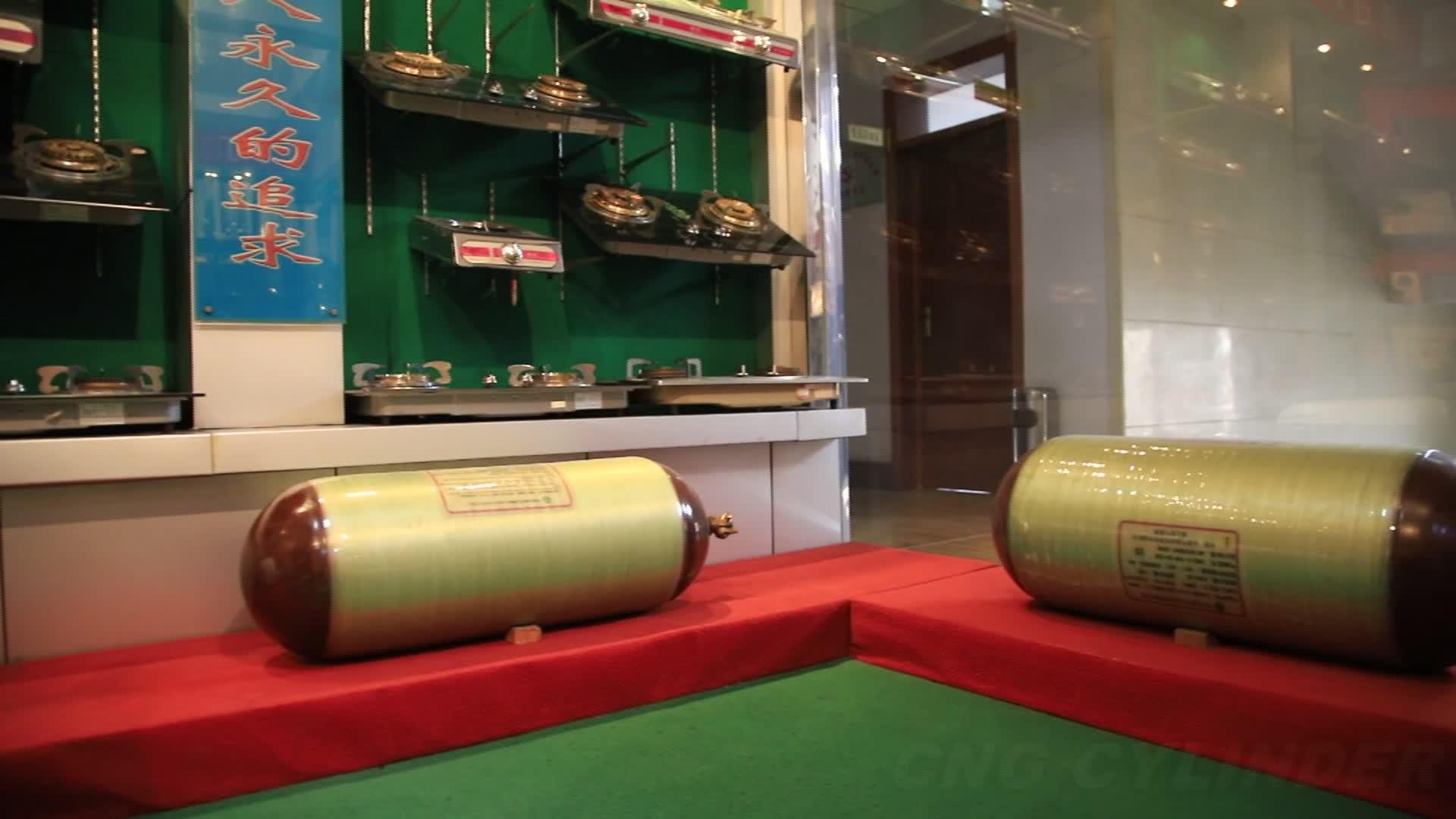 चीन उच्च गुणवत्ता प्रकार 2 सीएनजी गैस सिलेंडर