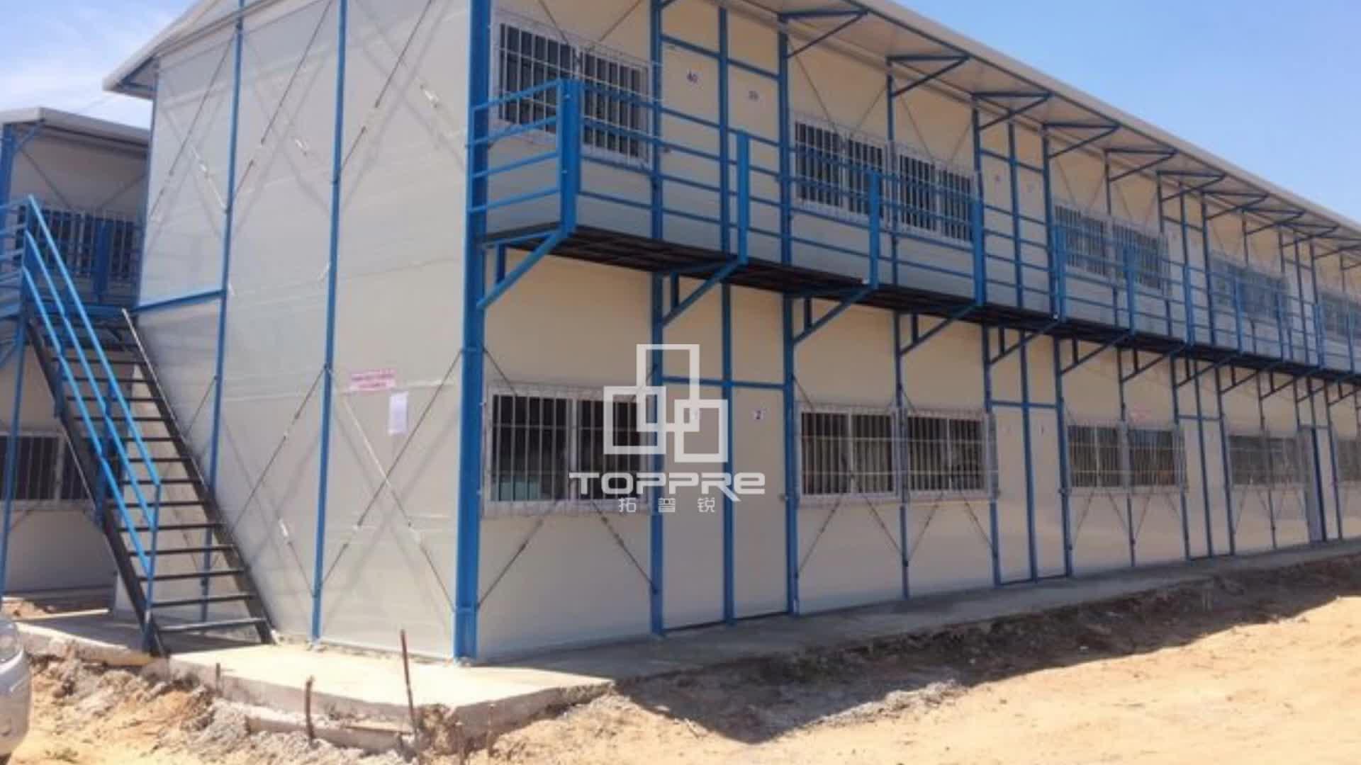 Case prefabbricate a cipro per modulo prefabbricata lavoro militare quarti