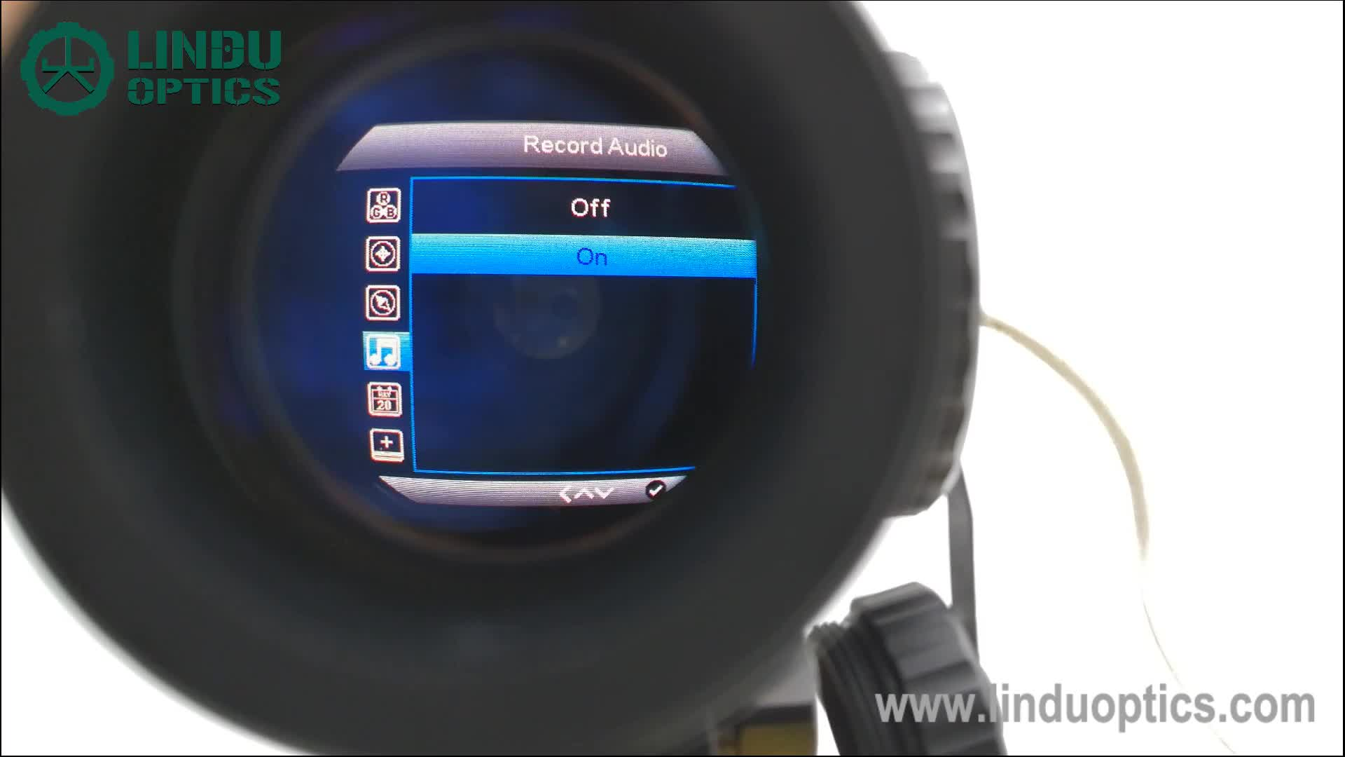 LINDU OPTIK X görüş dijital kızılötesi riflescopes avcılık gece görüş