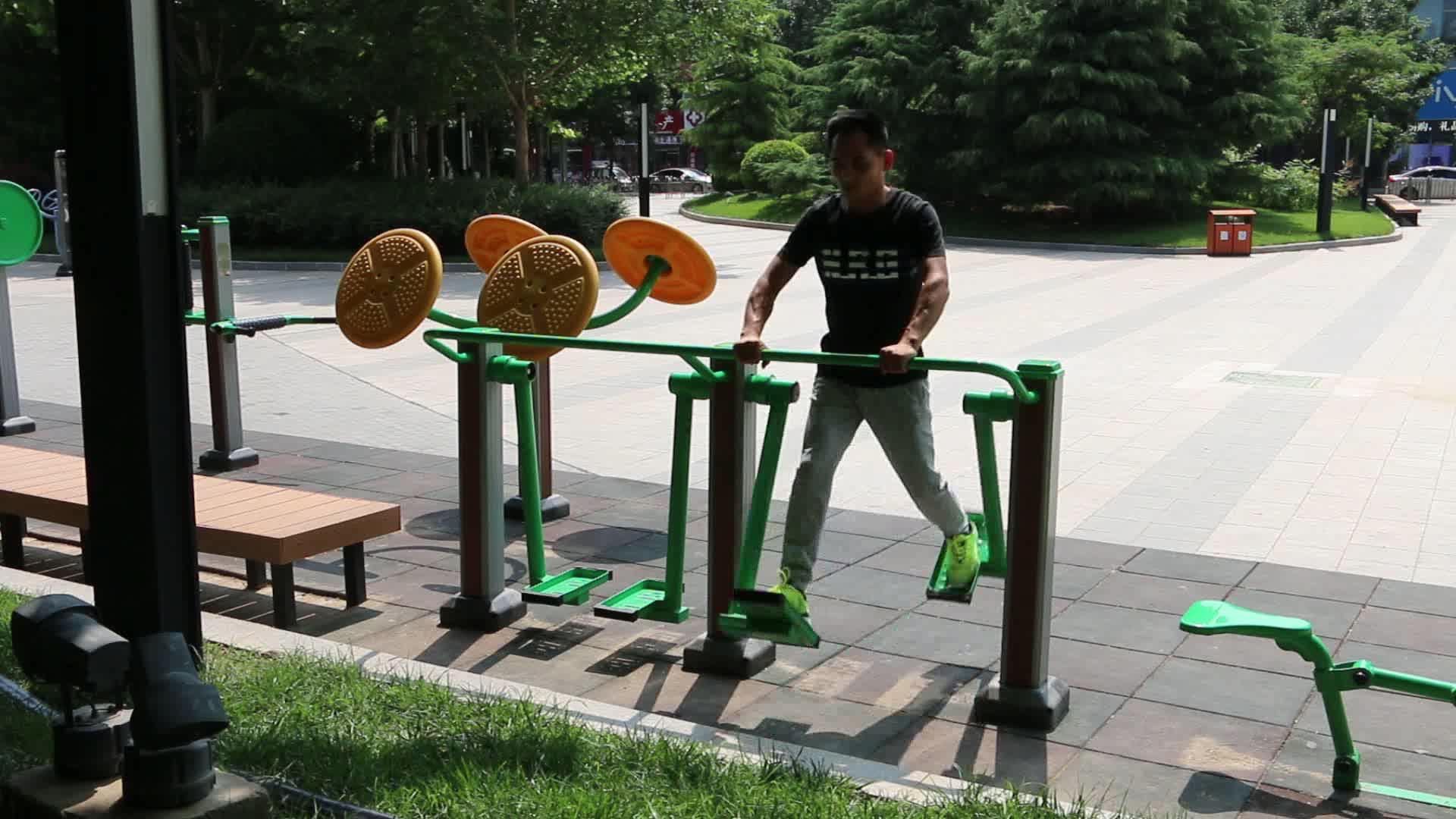 Equipamentos de ginástica Para Idosos Da Comunidade Parque Ao Ar Livre Equipamentos de Fitness Equipamentos de Ginástica Ao Ar Livre Exercício Caminhante Ar Máquina