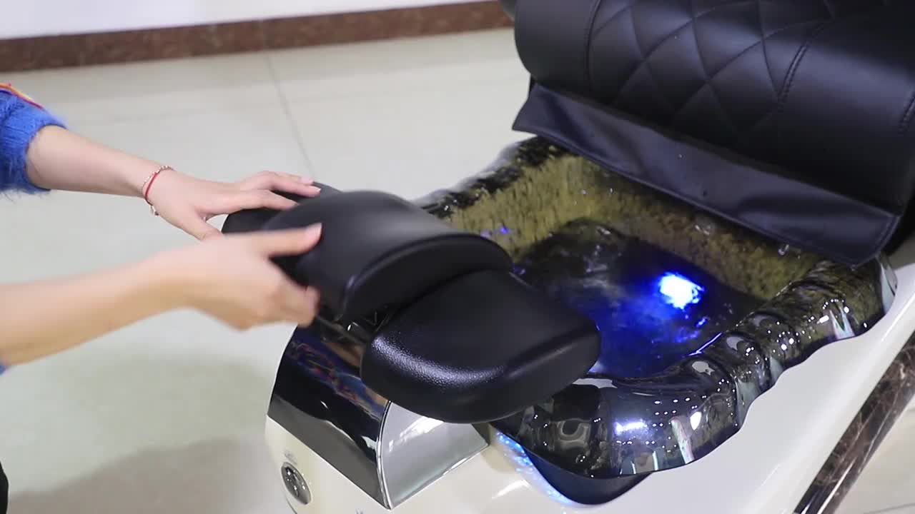 new design nail salon furniture with used nail spa pedicure chair