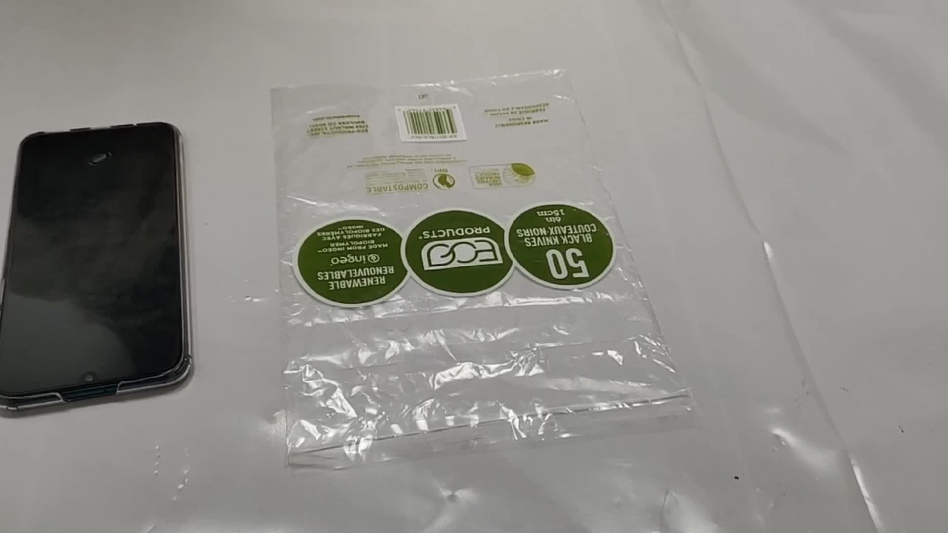 Özel selofan Polybag paketi şeffaf plastik kendinden yapışkanlı OPP poli boğulma uyarı çantası