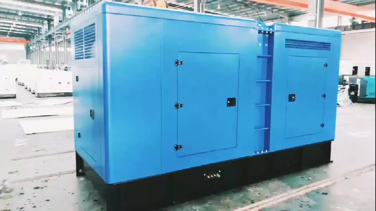 Top quality 330kw 400kva closed diesel generator price