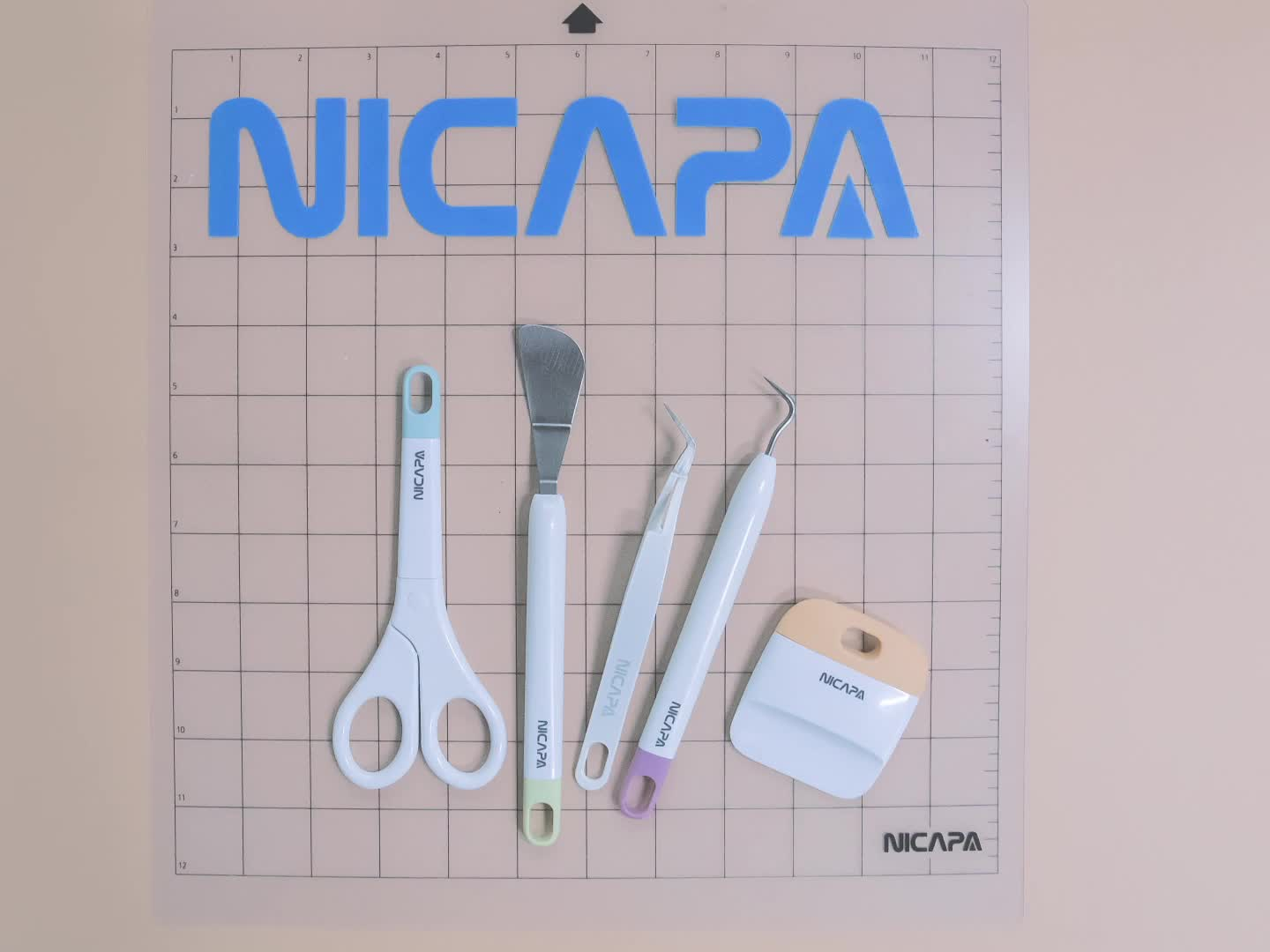 NICAPA Basic Tool Set Craft Set (Multicolor-1)