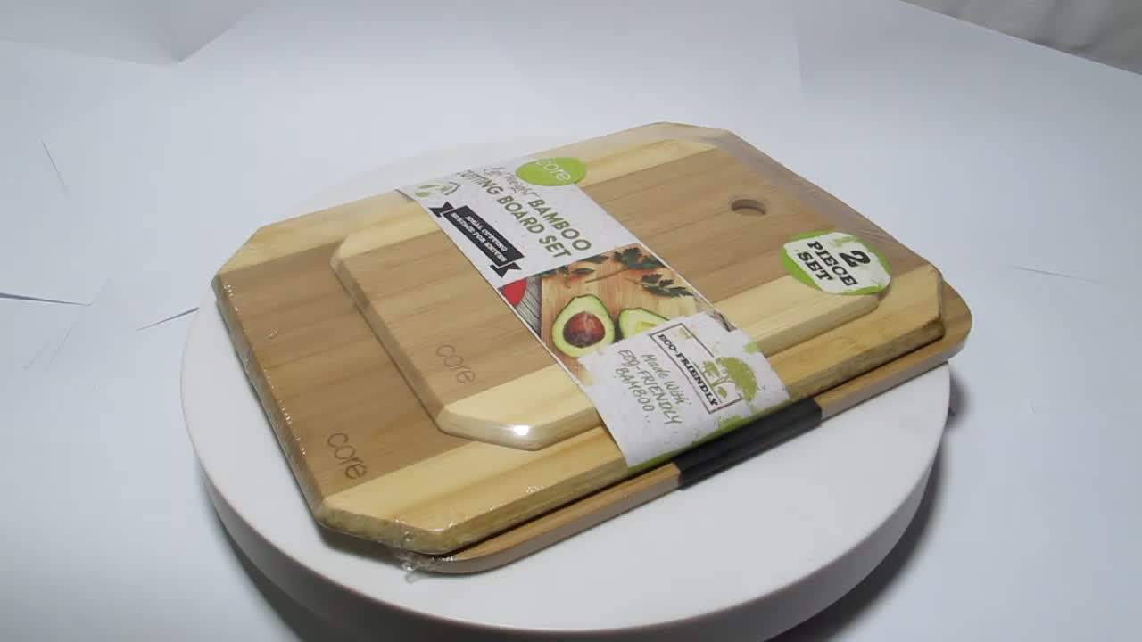 Extra Large Organic Bamboo Cutting Board for Kitchen, Best Wood Chopping Boards W/Juice Groove for Carving Meat