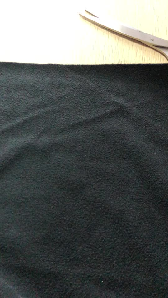 100% polyester tricoté Recycler tissu polaire