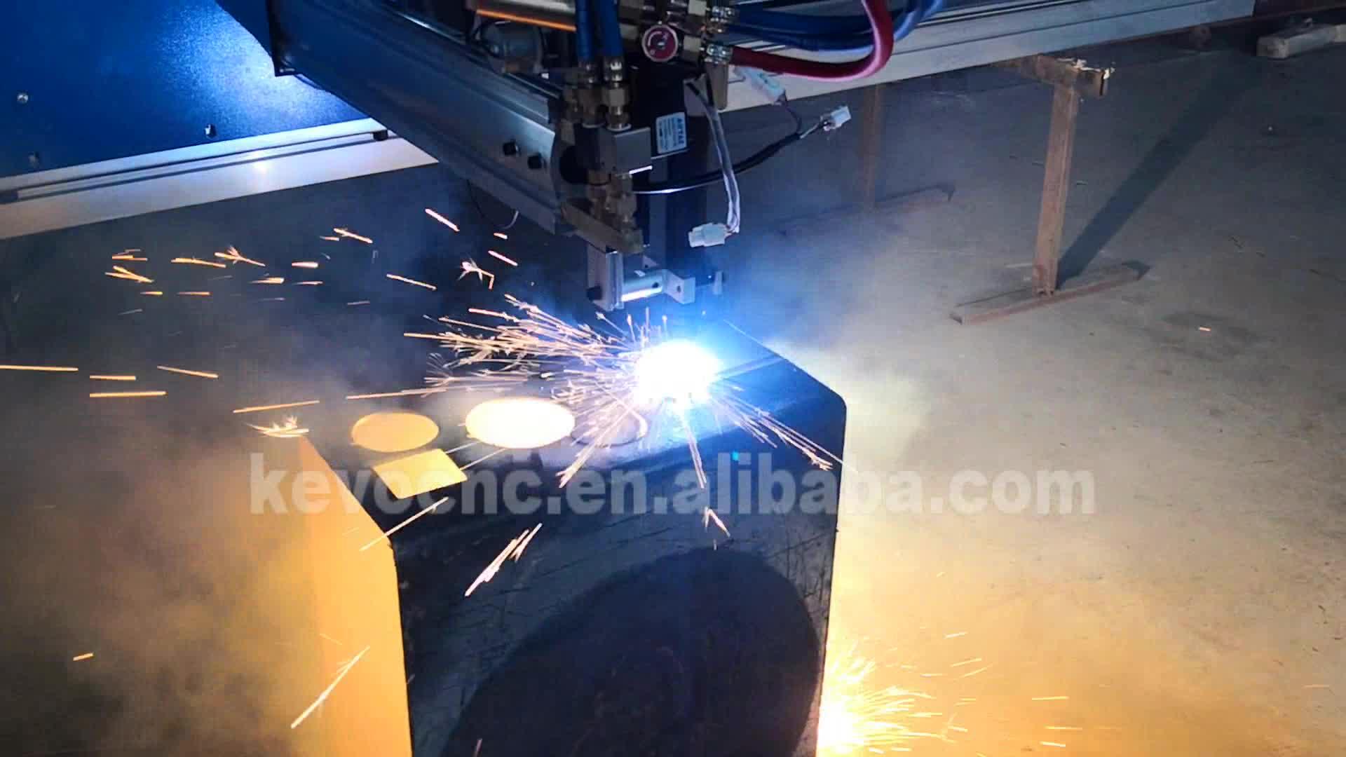 Easy mini cnc plasma เครื่องตัด Huayuan plasma เครื่องกำเนิดไฟฟ้า, 120A เครื่องตัดพลาสม่า