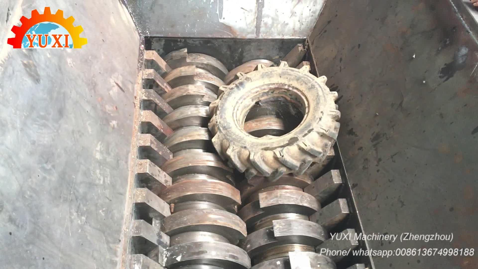 Usato Macchina di Riciclaggio di Pneumatici In Gomma Riciclaggio Dei Pneumatici Per La Linea di Produzione di Polvere di Gomma