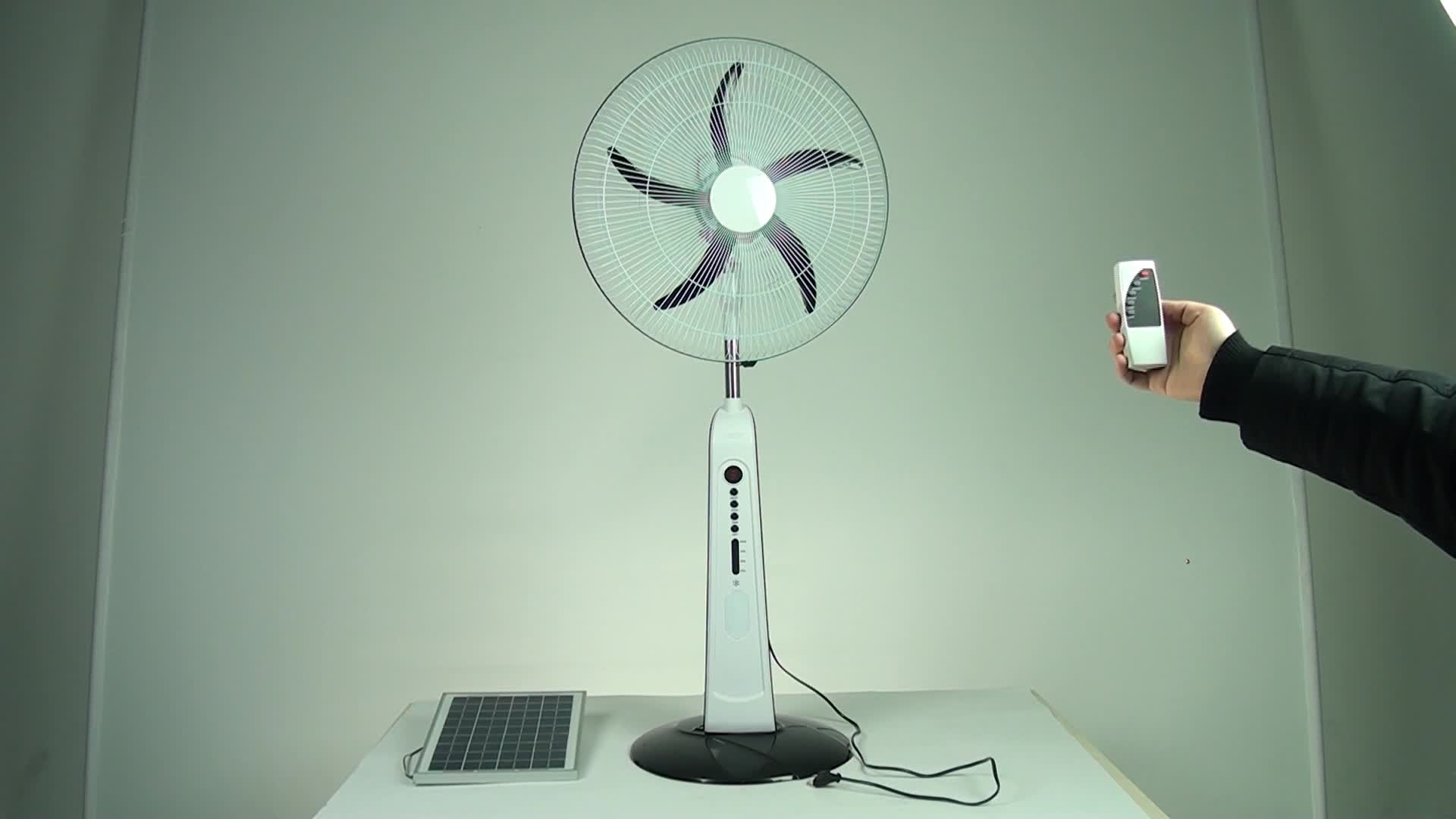 Battery Floor Fan : Newdesign summer cool inch durable using rechargeable