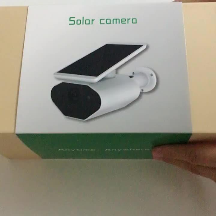Caméra de surveillance extérieure solaire sans fil, dispositif de sécurité étanche Offre Spéciale P, avec wifi, alimentation solaire, prix 1080, nouveauté