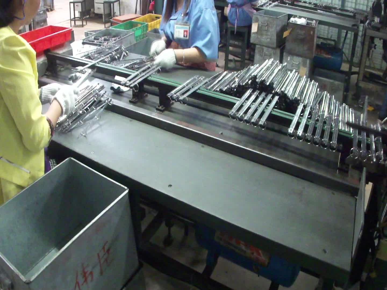 Nickel déclencheur en métal clip chine usine carnet vieille photo clip porte-mécanisme de reliure à 6 anneaux