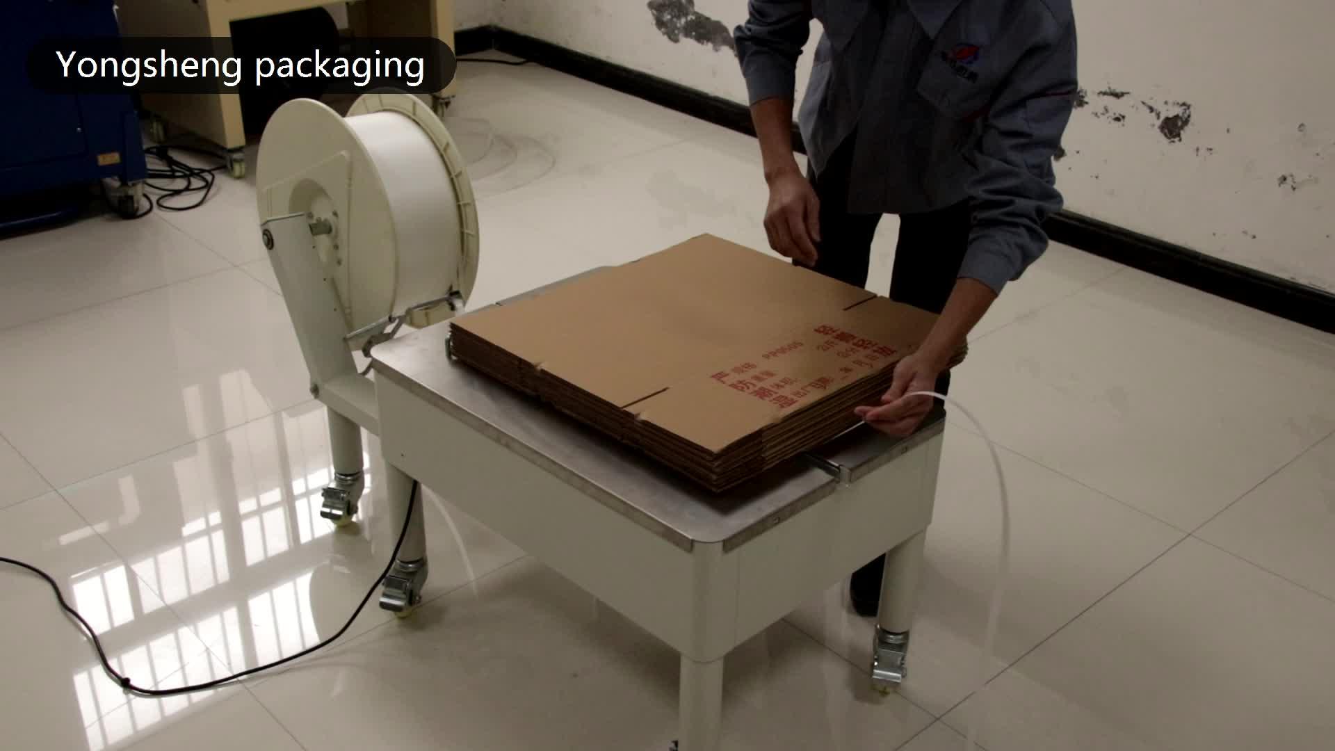 Plastic automatische strapping rolls pet/pp verpakking strip in plastic