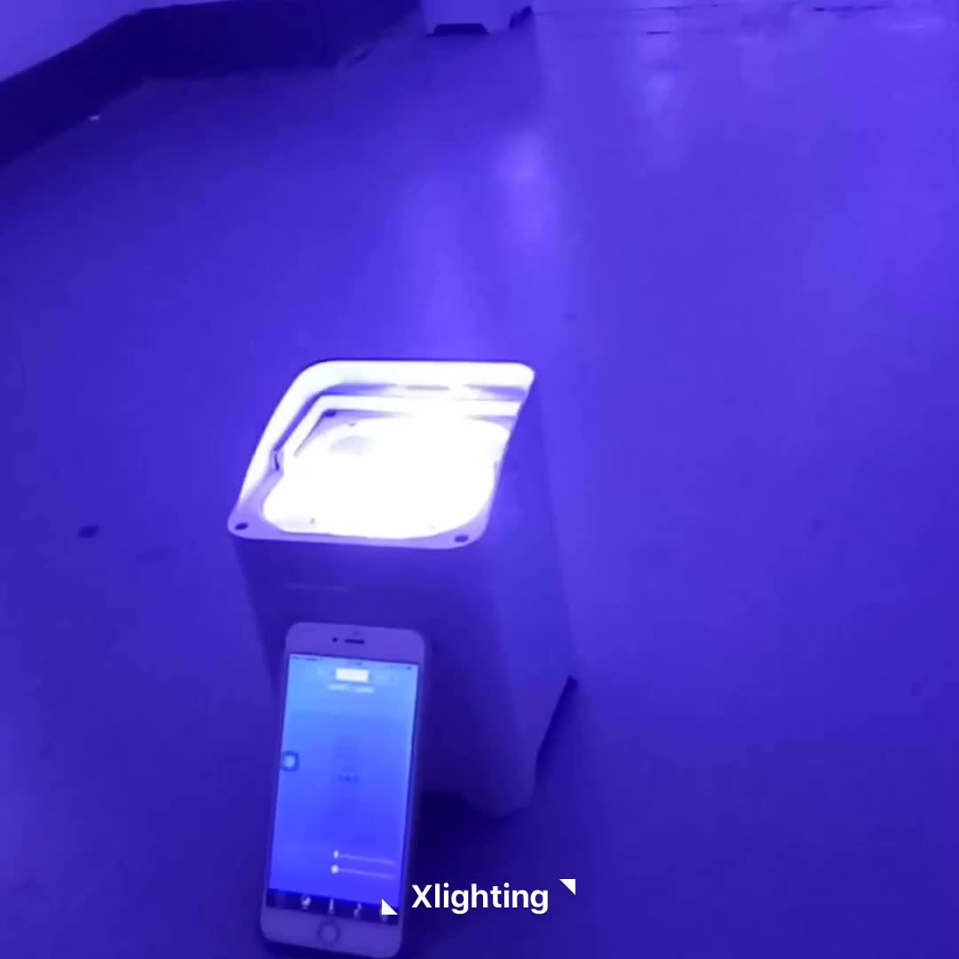 new products wireless battery powered led uplights par remote control led par light