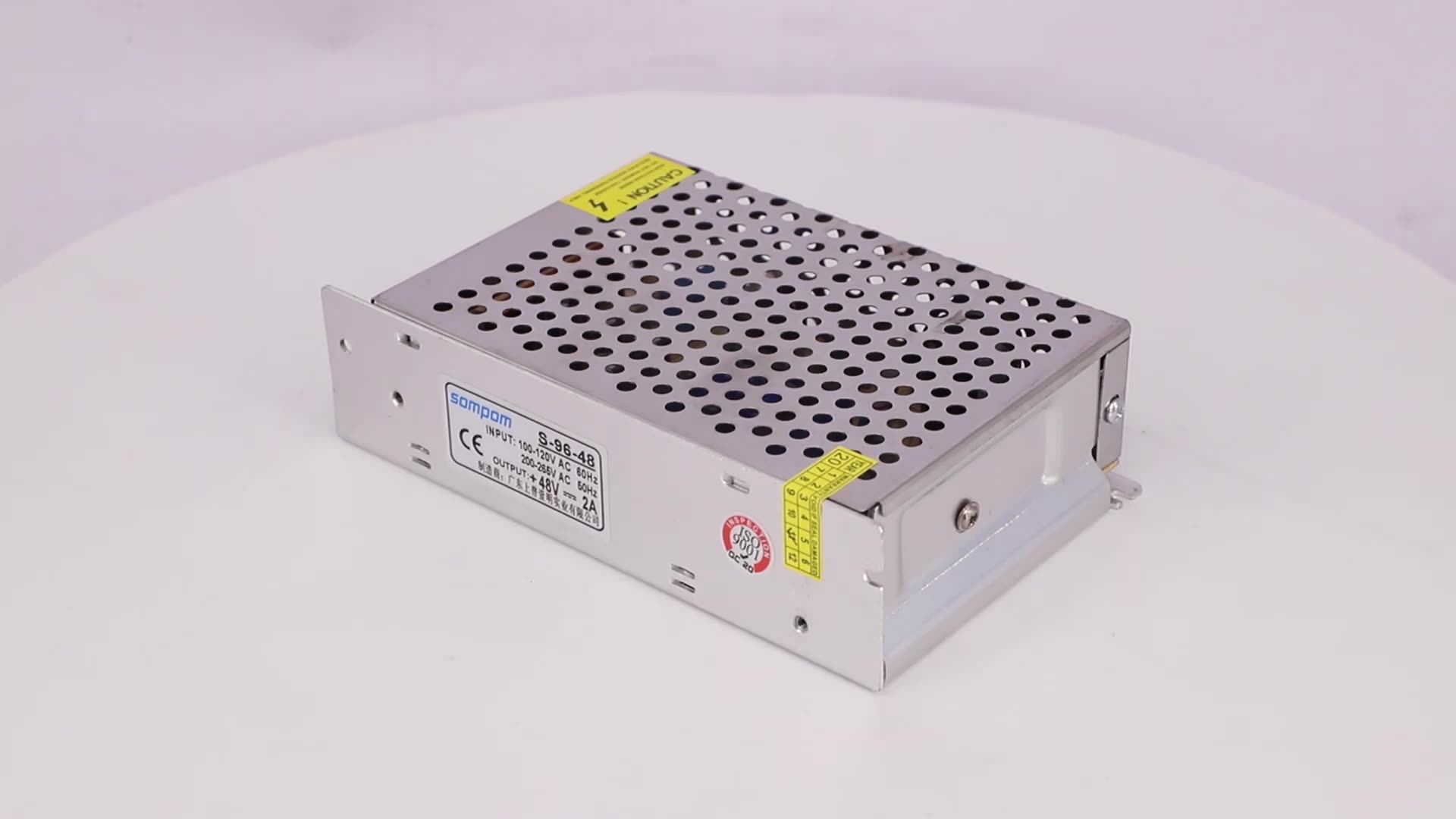 Single output dc 48v 2a 100w  110v 220v ac to dc 48v smps power supply enclosed power supply