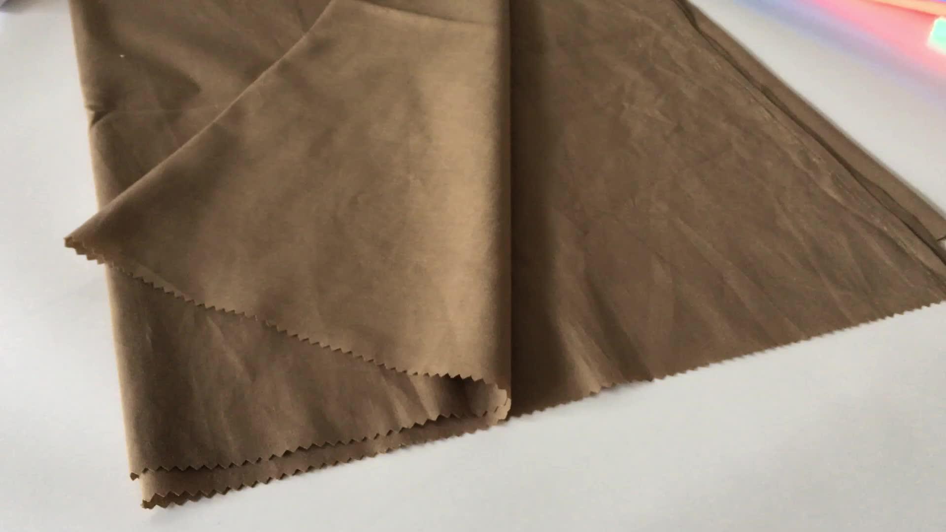 Tissu de poche T/C 6535 polyester & coton coloré poche vêtement doublure de poche