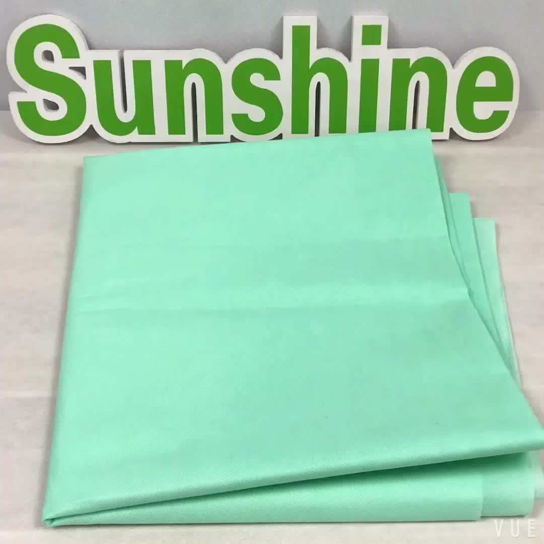 Professional surgical disposable waterproof non woven fabric hospital bed sheet