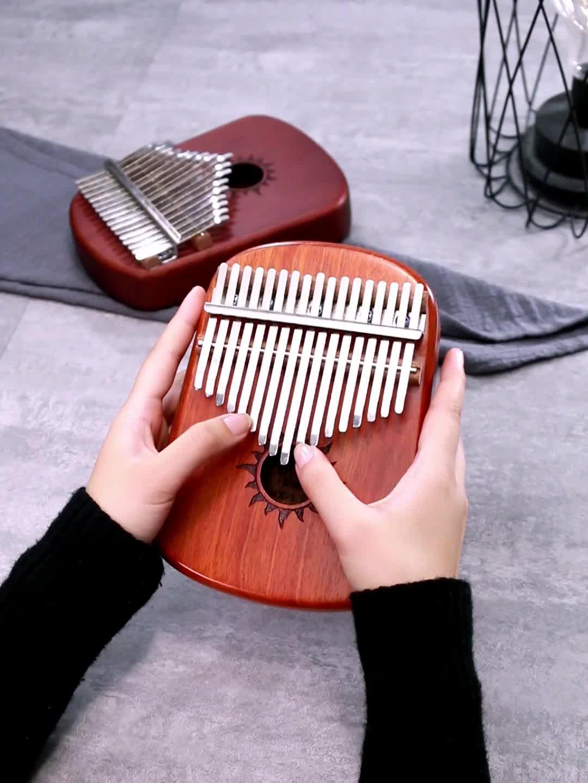 Được xây dựng trong Hi-Fi Pickup cảm biến Giao Diện Âm Thanh elektrik kalimba phiên 17 phím ngón tay đàn piano âm nhạc cụ