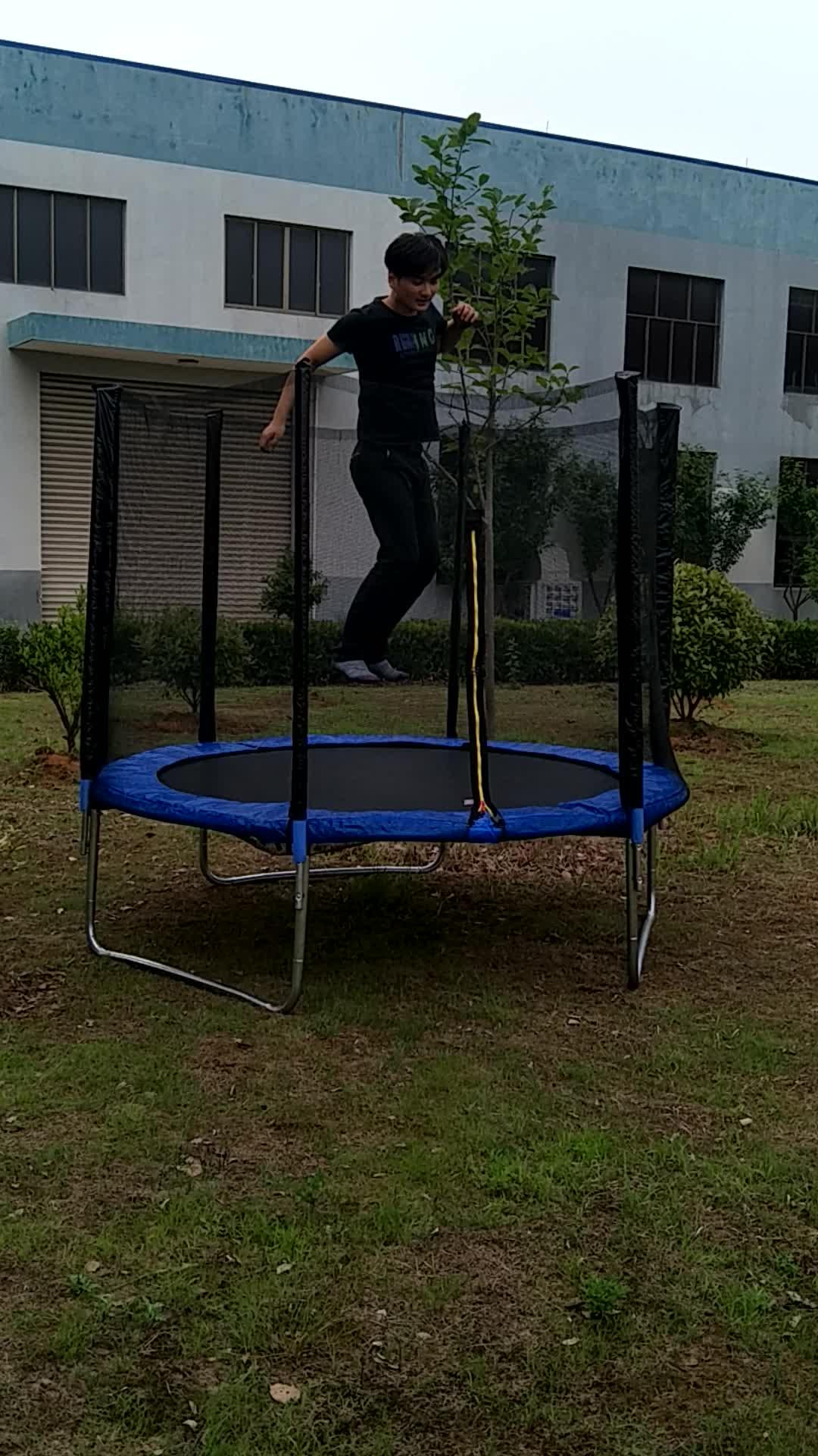183 cm único bungee jumping trampolim para venda