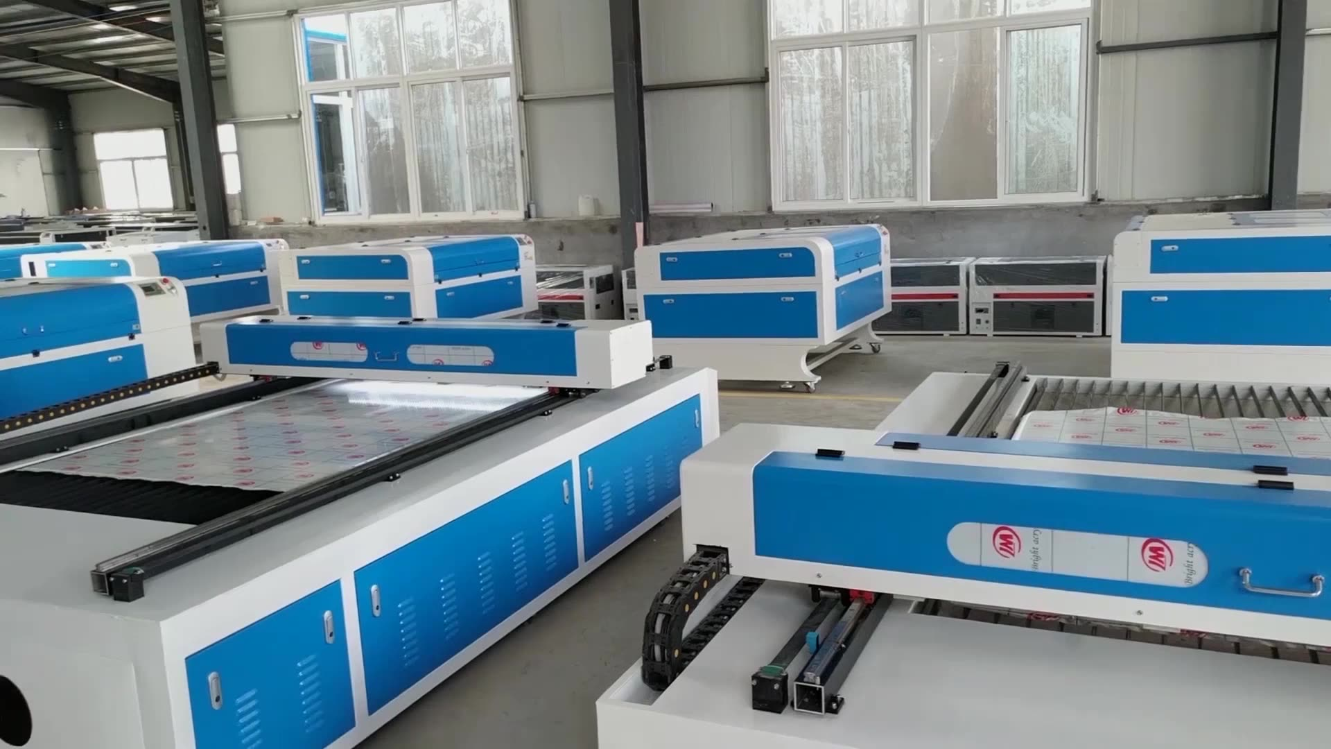 100W Desktop co2 laser marking machine for printing logo on wood acrylic MDF 110x110mm Sino-Galvo RC2808 BJJCZ  board